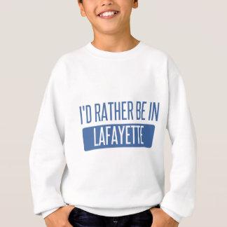 Ich würde eher in Lafayette HEREIN sein Sweatshirt