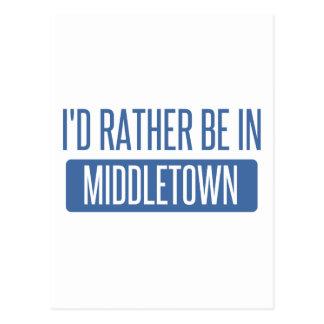 Ich würde eher in Middletown CT sein Postkarte