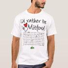 Ich würde eher in Mitford sein T-Shirt