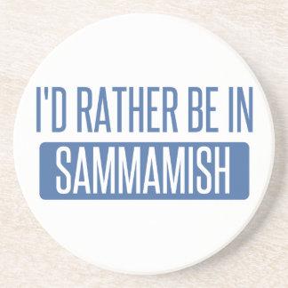 Ich würde eher in Sammamish sein Sandstein Untersetzer
