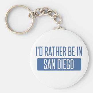 Ich würde eher in San Diego sein Schlüsselanhänger