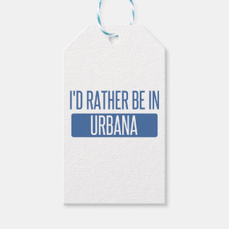 Ich würde eher in Urbana sein Geschenkanhänger
