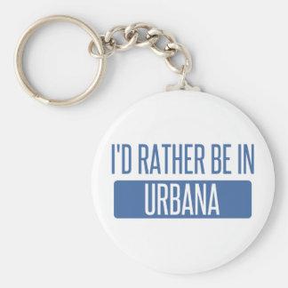 Ich würde eher in Urbana sein Schlüsselanhänger