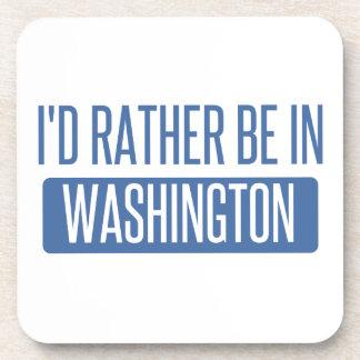 Ich würde eher in Washington sein Untersetzer