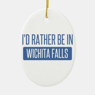 Ich würde eher in Wichita-Fälle sein Keramik Ornament