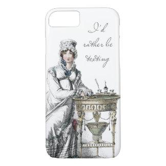 Ich würde eher Regentschafts-Modegeck sein iPhone 7 Hülle