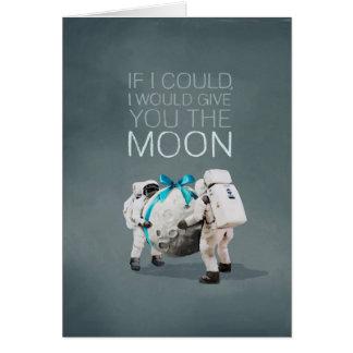 Ich würde Ihnen den Mond geben Karte