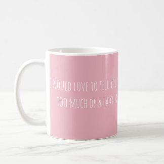Ich wurde Liebe, Ihnen zu erklären… (nur Text) Kaffeetasse