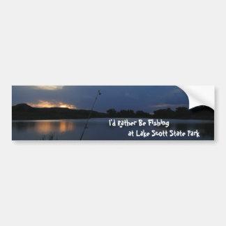Ich würde vielmehr am See-Scott-Staats-Park Autoaufkleber