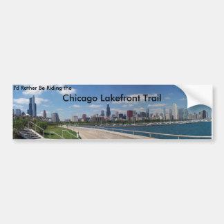 Ich würde vielmehr die Chicago-Seeseite-Spur Autoaufkleber