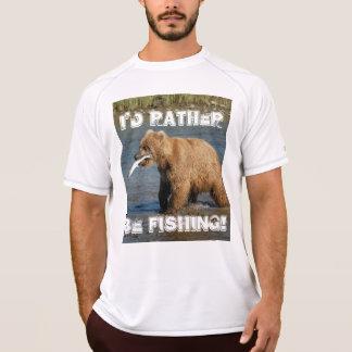 Ich würde vielmehr fischen T-Shirt