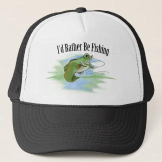 Ich würde vielmehr Hut fischen Truckerkappe