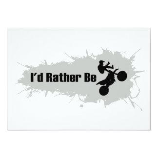 Ich würde vielmehr Motocross tun Karte