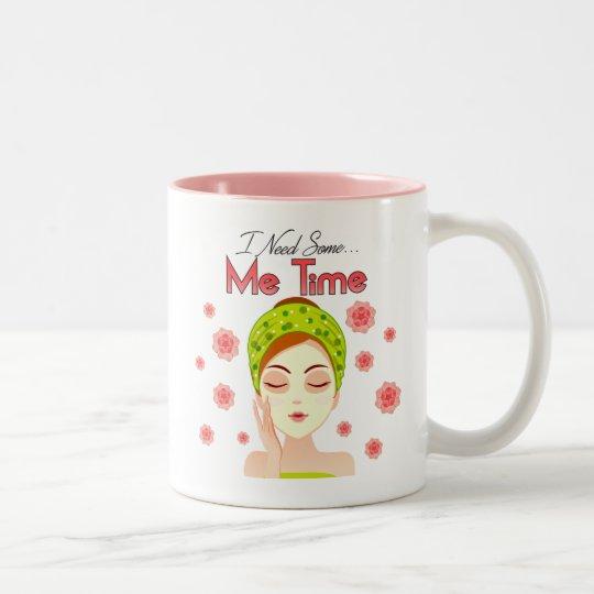 Ich Zeit-Tasse Zweifarbige Tasse