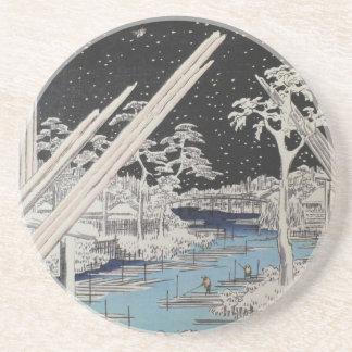 Ichiryusai Hiroshige Untersetzer