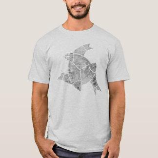 Ichthys - 3 Fische Jesus-Fisch-Dreiheits-Shirt T-Shirt