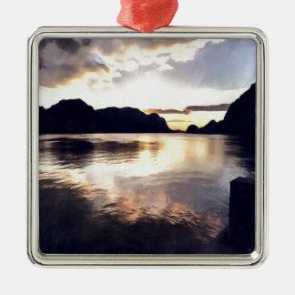 Icmeler Meerblick Silbernes Ornament