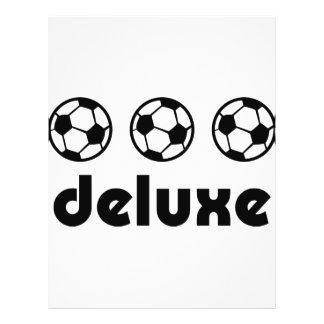 icône de luxe du football tract customisé