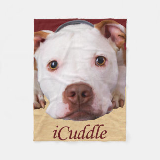 iCuddle Pitbull Fleecedecke