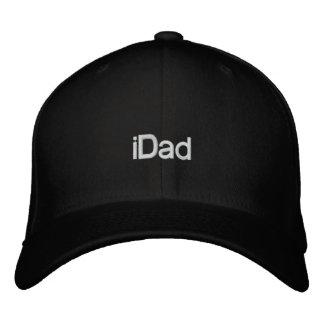 iDad Baseball-Stickerei-Hüte für Vati Bestickte Mützen
