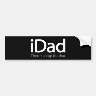 iDad - lustiger Autoaufkleber für Vati