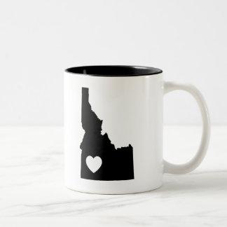 Idaho-Liebe-Tasse Zweifarbige Tasse