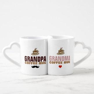 idée de grand-papa et de grandmom tasse duo