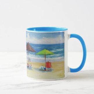 Identifikation eher setzt auf den Strand Tasse