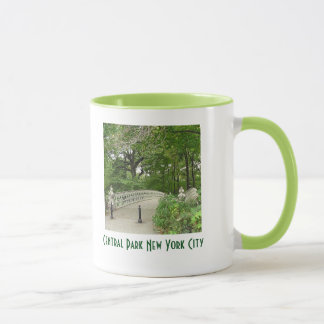 Idyllische Wecker-Tasse Central Park New York City Tasse