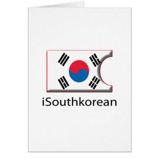 iFlag Südkorea Karte