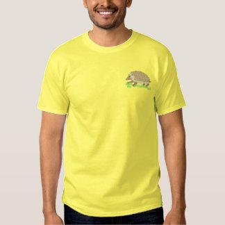 Igel Besticktes T-Shirt