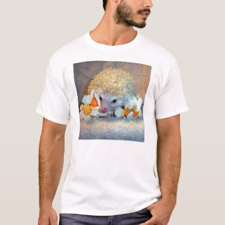 Igel im Narzissen-Shirt T-Shirt