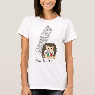Igel im T-Stück Italien-Frauen T-Shirt
