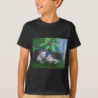 Igel in der Liebeölmalerei T-Shirt