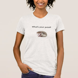 Igel - Sarkasmus T-Shirt