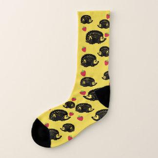 Igel u. Erdbeeren - Socken-Felsen! Socken