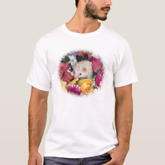 Igel unter Blumen T-Shirt