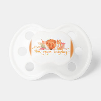 Igel Watercolor 0-6 Monate Baby-Schnuller Schnuller