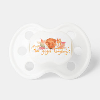 Igel Watercolorbaby 0-6 Monate Schnuller