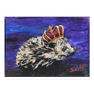 Igels-König Postkarte