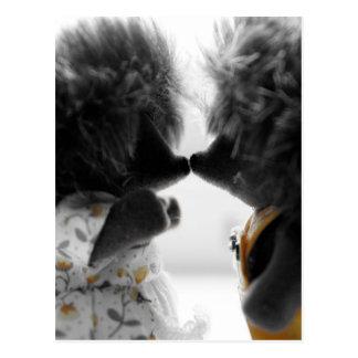 Igels-Liebe Postkarte