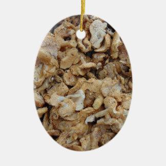 Igels-Pilze Keramik Ornament