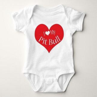 iheartpits baby strampler