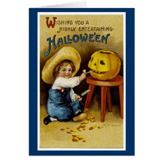 Ihnen ein in hohem Grade unterhaltsames Halloween Karte