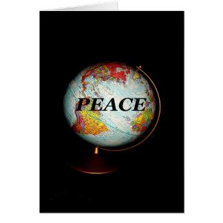 Ihnen Weltfrieden wünschen dieses Weihnachten Karte