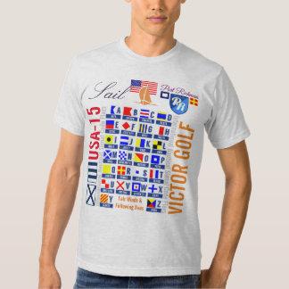 Ihr flaggen USA-Flaggen-Segel der Tshirt