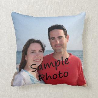 Ihr Foto auf einem Kissen