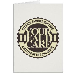 Ihr Gesundheitswesen Karte