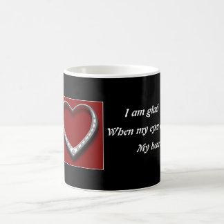 Ihr Herz gefangengenommenes Bergwerk Kaffeetasse