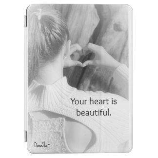 """""""Ihr Herz ist schöne"""" intelligente Abdeckung iPad iPad Air Hülle"""